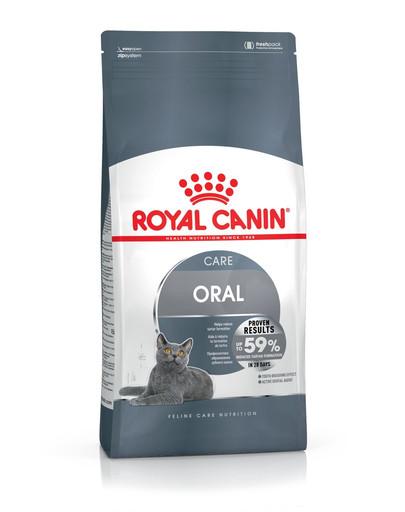 ROYAL CANIN Oral Care 1.5 kg granule pre mačky znižujúce tvorbu zubného kameňa
