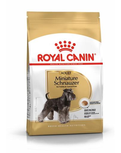 ROYAL CANIN Schnauzer Adult 3 kg granule pre dospelého bradáča