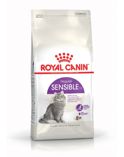 ROYAL CANIN Sensible 2kg granule pre mačky s citlivým trávením