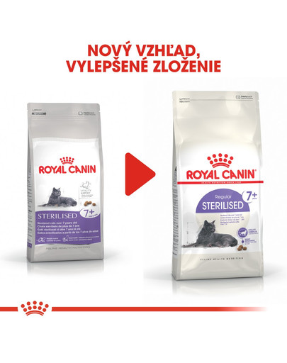 ROYAL CANIN Sterilised 7+ granule 1,5kg pre starnúce kastrované mačky