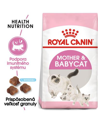 ROYAL CANIN Mother & Babycat 4kg granule pre kotné alebo kojace mačky a mačiatka