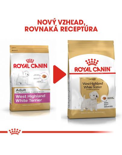 ROYAL CANIN Westie Adult 1,5 kg granule pre dospelého westhinghlandského bieleho teriéra