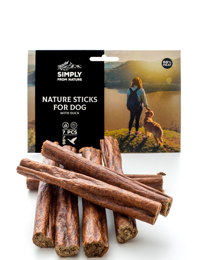 SIMPLY FROM NATURE Nature Sticks with duck Prírodné kačacie tyčinky 7 ks.
