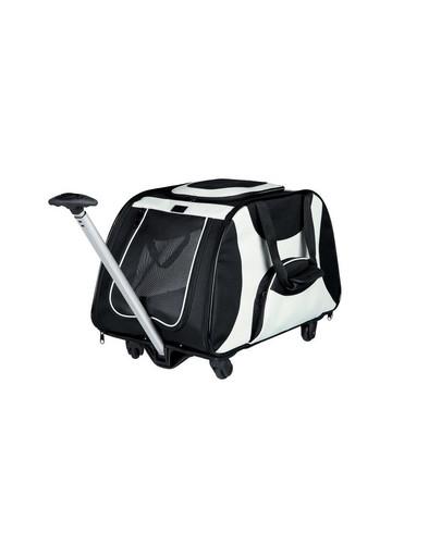TRIXIE Vozík pre psa za bicykel nylon 34 x 43 x 67 cm čierno-šedý