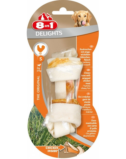 8in1 Dental Delights žuvacia kosť S