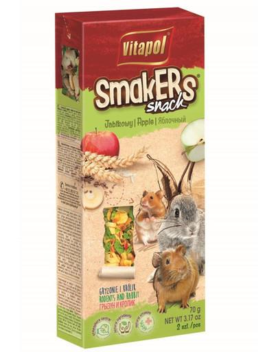 VITAPOL Smakers pre hlodavce-jablčné 2 ks