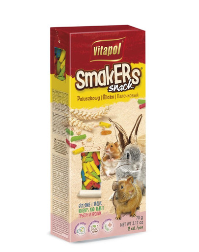 VITAPOL Smakers pre hlodavce Atmosphere control