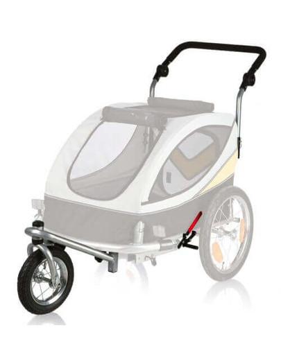 TRIXIE Sada Predné koleso a držadlo k vozíku M, konverzie na behanie 12805