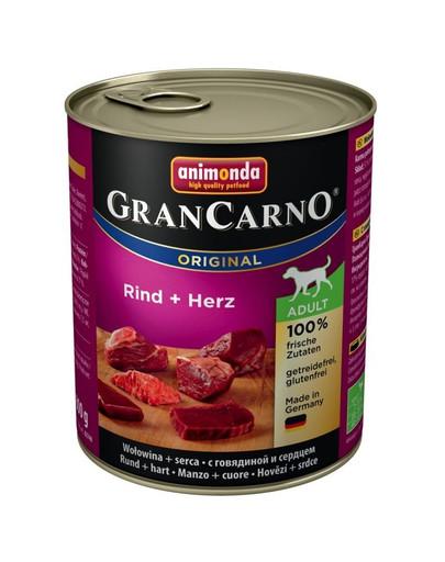 ANIMONDA Grancarno srdce konzerva 800 g