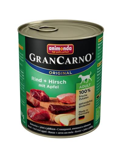 ANIMONDA Grancarno jeleň/jablko konzerva 800 g